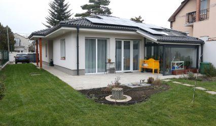 Alacsony energiaigényű családi ház Budapest